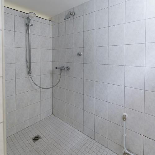 Wellness-Dusche im Saunabereich